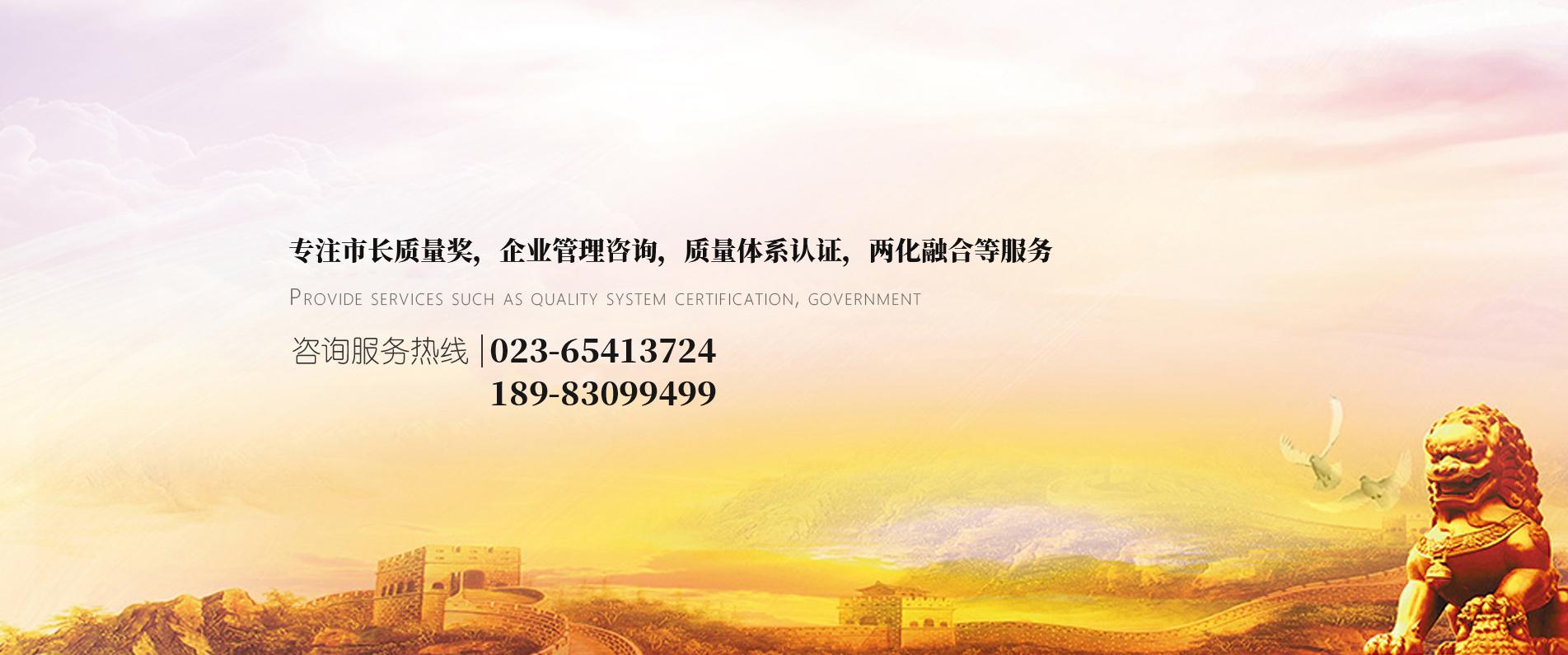 重庆两化融合质量管理咨询